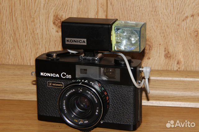 Винтажная вспышка Konica на магниевых кубиках 89052471031 купить 1