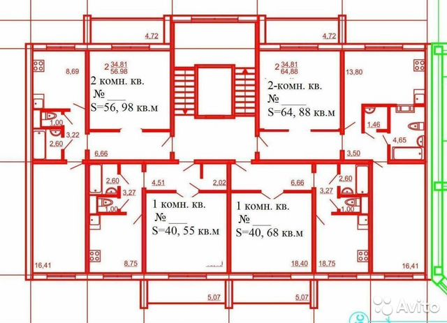 Продается двухкомнатная квартира за 1 650 000 рублей. ул Кожевникова 49а.
