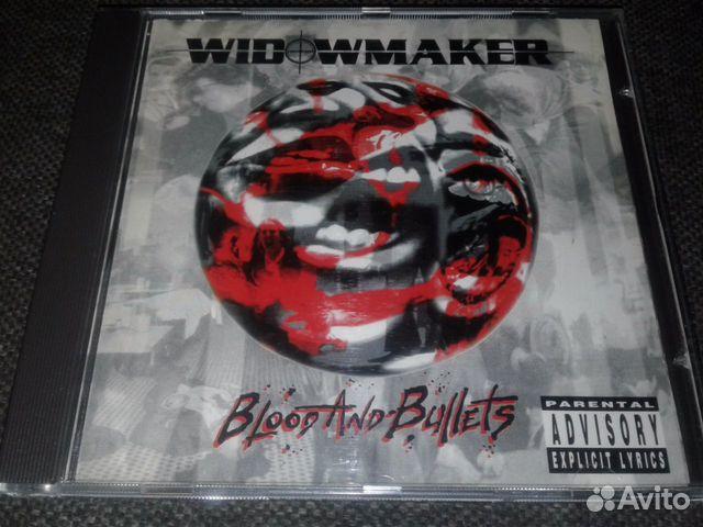 Widowmakerblood AND bullets 93г.CD  89069901803 купить 1