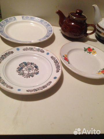 Посуда фаянсовая (зик и В )