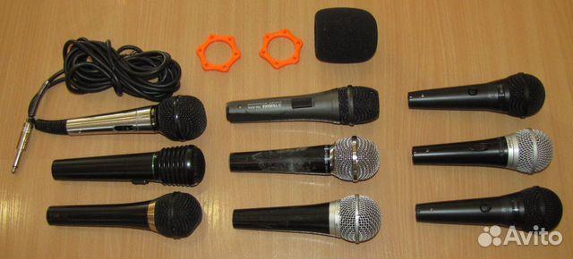 Вокальные микрофоны 9шт. Shure Yamaha Behringer купить 5