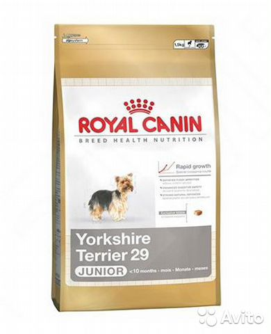 Royal Canin mini yorkshire 1.5кг— фотография №1