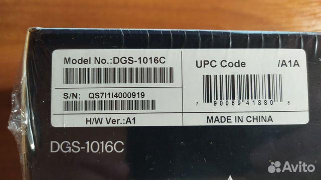 Коммутатор D-Link DGS-1016C 89080859809 купить 3