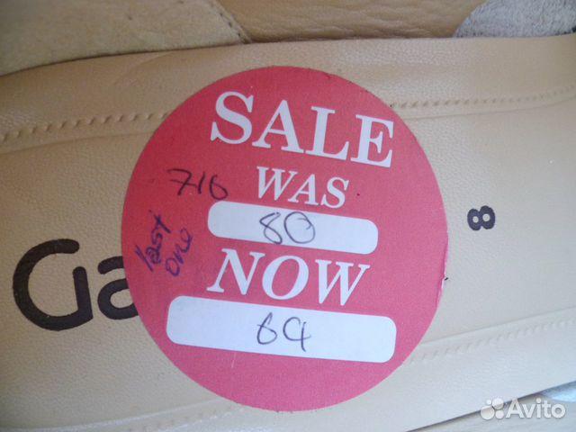 Gabor 41-42 новые женские кожаные туфли  89585853262 купить 2