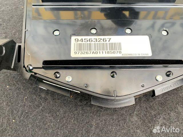 Блок управления магнитолой передний Chevrolet  89086364687 купить 3