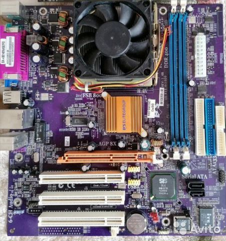 Материнская плата + процессор + кулер  89207285909 купить 1