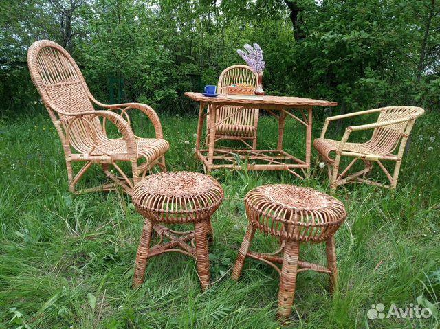 Комплект плетеной мебели  89805310848 купить 4