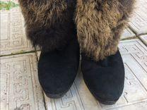 Зимние натуральные ботиночки