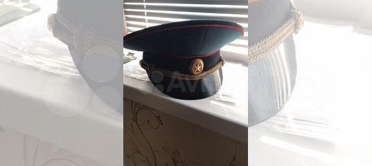 Фуражка офицерская (парадная)