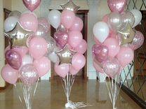 Набор шариков «Розовый оттенок»