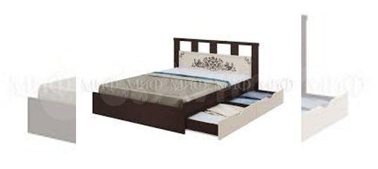 Кровать двуспальная с ящиком