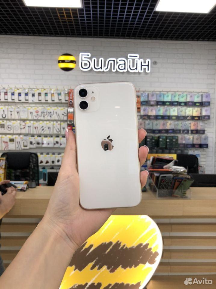 iPhone 11 128 гб белый (Рассрочка)