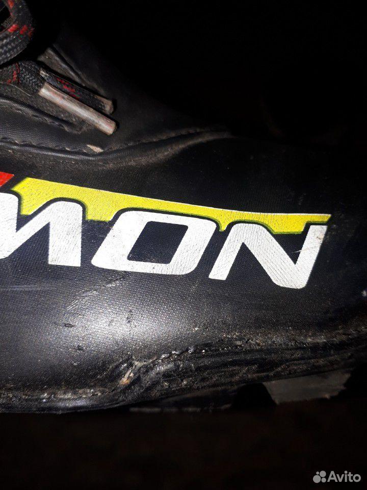 Ботинки Salomon skiatlon 44 EU, палки Madshus 155  89173235789 купить 2