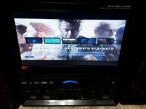 Музыкальный центр(tv,fm,aux,dvd,mp3)