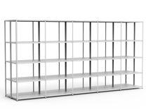 Стеллаж металлический стф 1034-2.5 (4 полки)