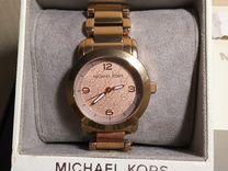 Часы Michael Kors MK3159 Runway цвет розовое золот