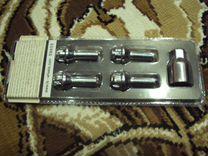 Болты секретки размер резьбы M 12*1.25 хром к-т
