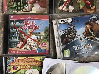 Компьютерные игры и развивающие диски