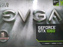 Видеокарта evga GTX 1060 3Gb