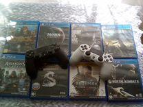 Продается PS4+2 геймпада+игры