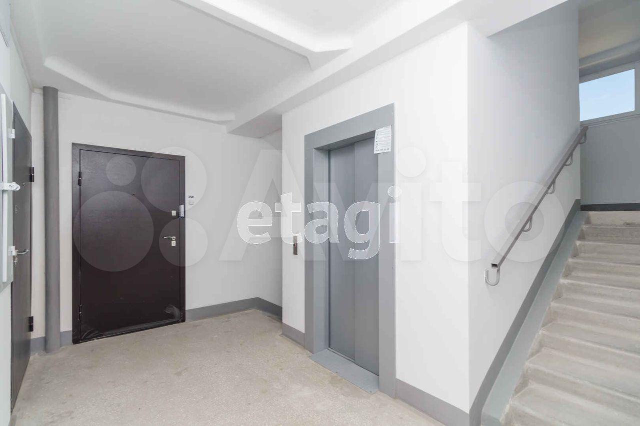 1-к квартира, 40 м², 8/10 эт.