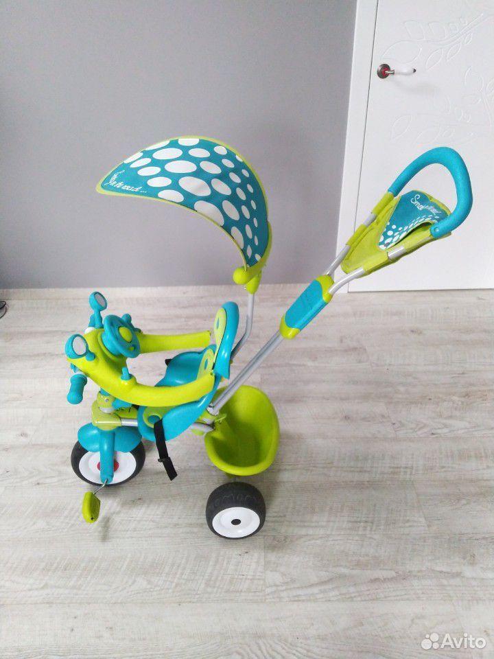 Детский велосипед Smoby Baby driver confort  89005705726 купить 1
