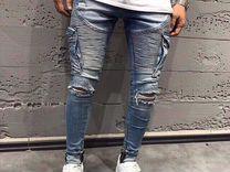 Стильные мужские джинсы, slim