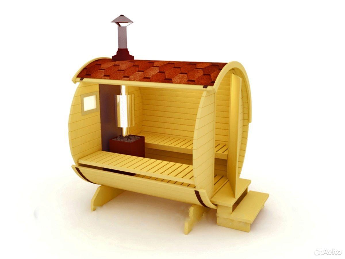 Баня-бочка модель 210  88212293047 купить 2