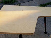 Стрелковый стол и стул