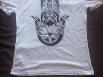 Новая женская футболка с хамсой