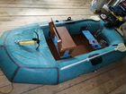 Лодка надувная омега-2,якорь,сидение,пайол,пол