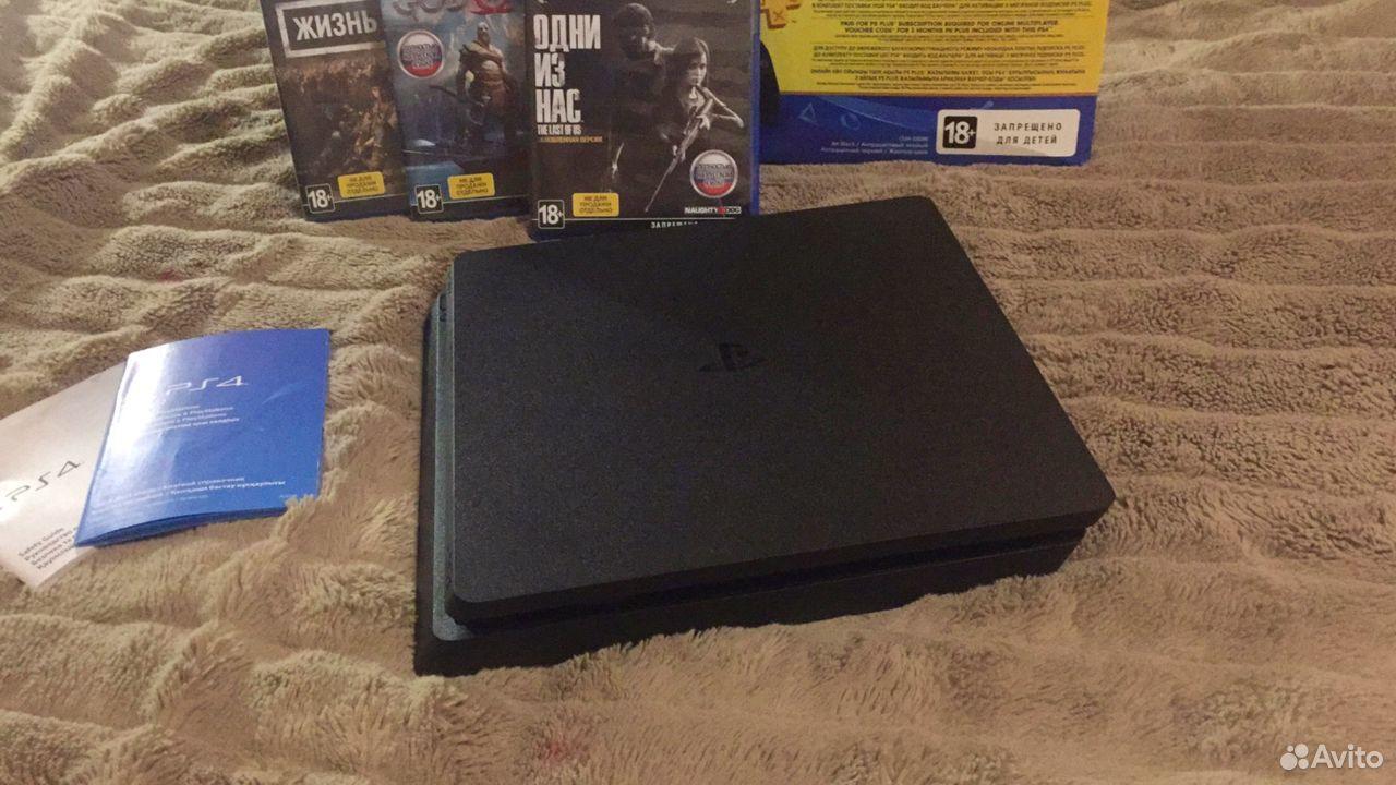 Sony PS4 Slim 1TB, новая, на гарантии + игры 89038918724 купить 5