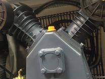 Двигатель электрический и голова на компрессор