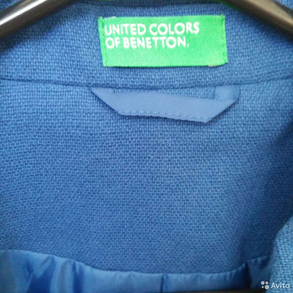 Пальто пиджак Benetton  89101475907 купить 3