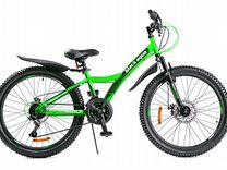 Велосипед black aqua Cross 1471 D 24