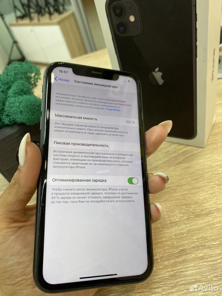 iPhone 11 Black 128 gb на официальной гарвнтии  89527999199 купить 3