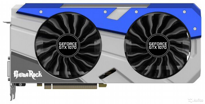 Palit GeForce GTX 1070 GameRock  89128346127 купить 1