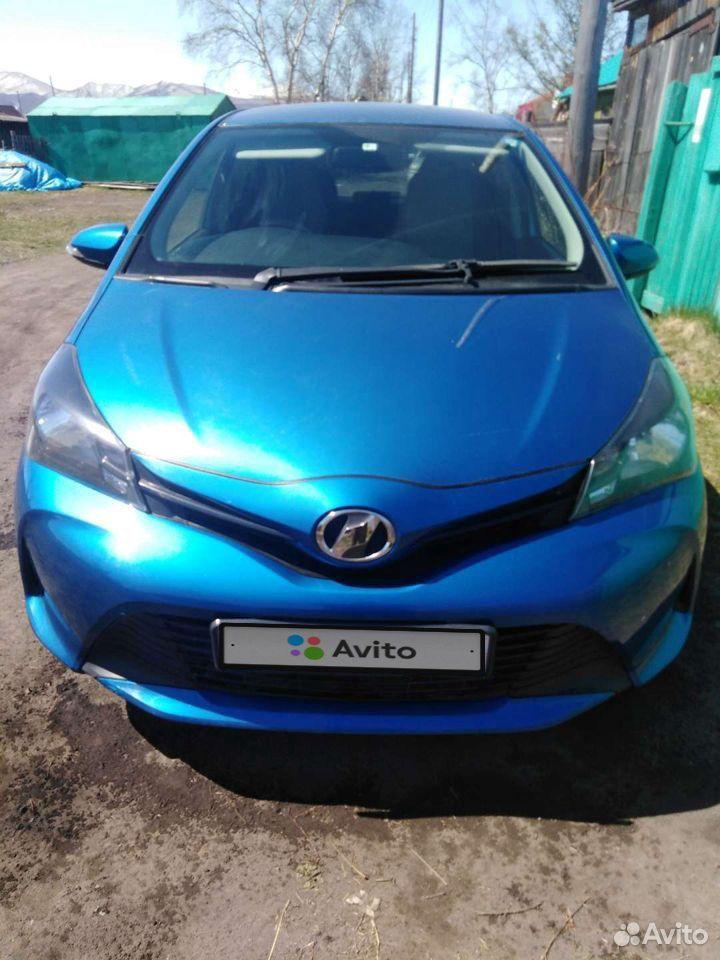Toyota Vitz, 2016  89098324766 купить 1