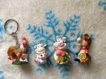 Фигурки сувенирные игрушечки