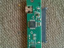 Нерабочий SATA-usb 2.0 адаптер для жёстких дисков