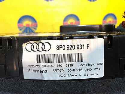 Комбинация приборов Audi A3 8P1 BZB 2004-2008