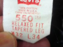 Levi strauss 550, 32-34