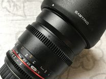 Samyang 16mm T2.2 UMC vdslr Canon EF